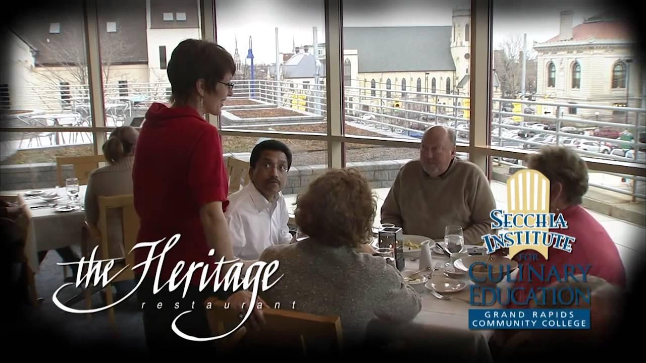 Heritage Restaurant | Grand Rapids Community College