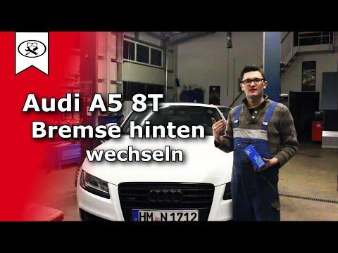 Audi A5 B8 Bremsen Hinten wechseln     Switch brakes    VitjaWolf   Tutorial    HD