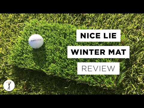 Nice Lie Winter Golf Mat Review