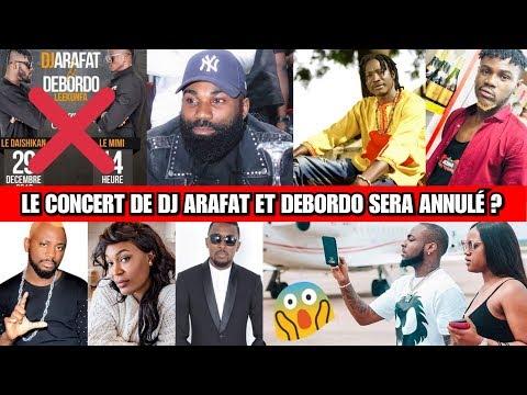 Le Concert d'Arafat et Debordo Annulé ? Ariel Sheney Feat Ismael Isaac - Journal de PRIINCE TV