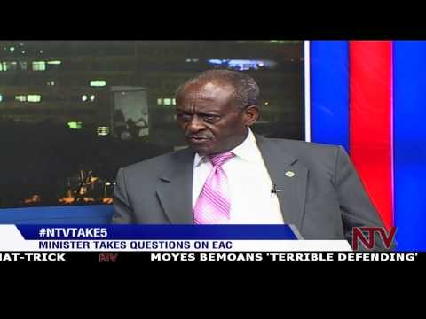 #NTVTake5: EAC Affairs Ministry Shem Bageine takes your questions live