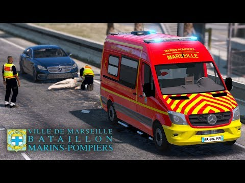[GTA 5] Marins Pompiers de Marseille #INTERVENTION16
