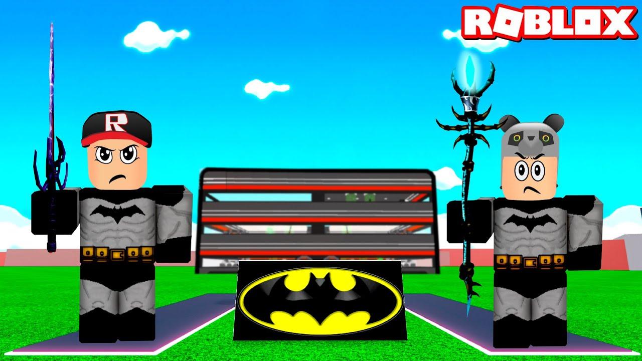 Batman Olduk!! Süper Kahraman Fabrikası - Panda ile Roblox Super Hero Tycoon