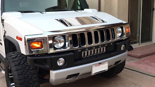 2008 Hummer H2 White Luxury Package, Premium Package, Tow Package