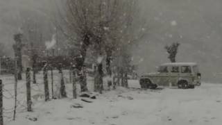 Snowfall in Manali (Kothi) 4 January 2017