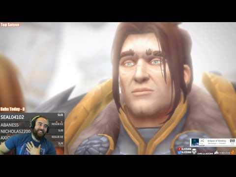 Bajheera - Hidden Anduin Wrynn Quest Cinematic [Live Reaction] - WoW Legion 7.2 Lore