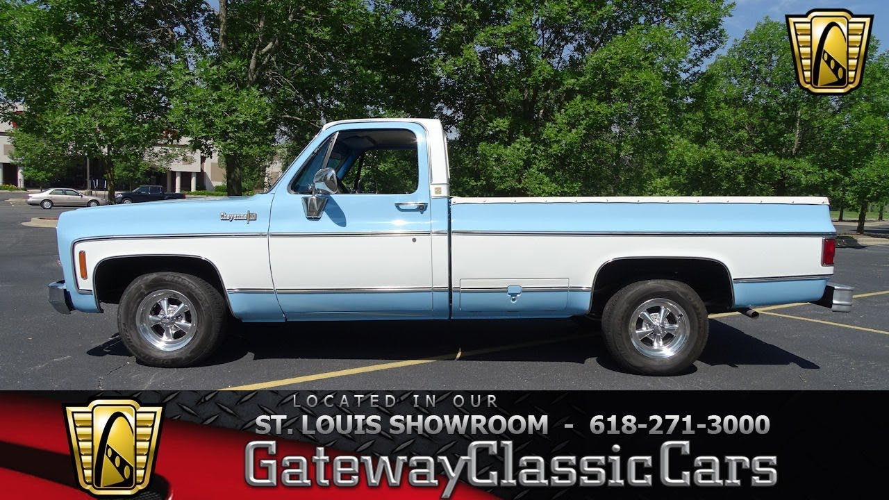 1974 Chevrolet C10 Cheyenne Stock 7736 Gateway Classic Cars St Louis Showroom Youtube