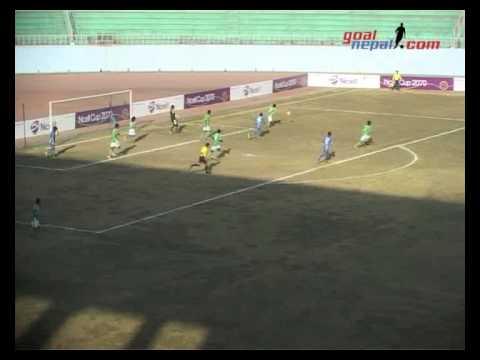 Ncell Cup 2013   Boys Union Club Vs Three Star Club Match Highlights & Goals  By GoalNepal com