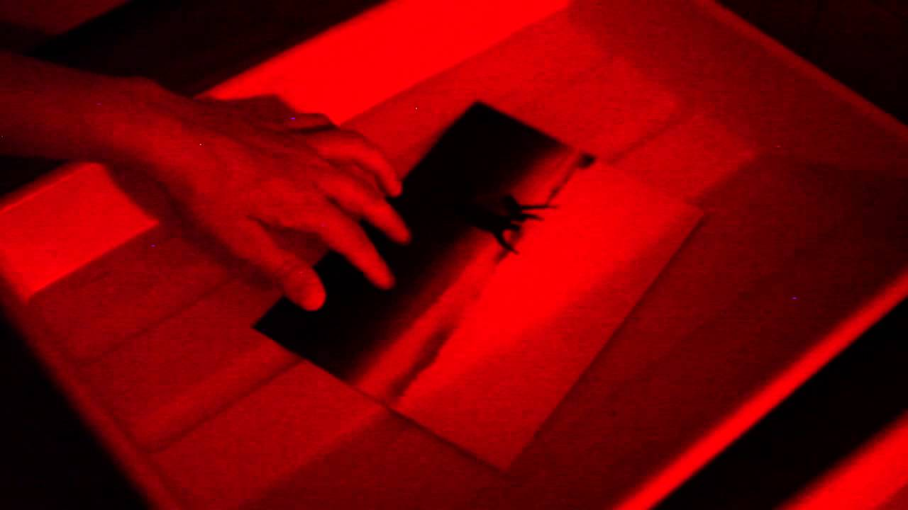 print development (darkroom process) - YouTube