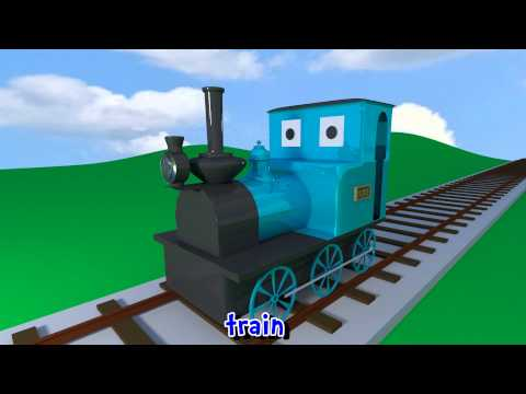 Learn sounds and names of transport vehicles for children, toddlers and babies