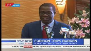 Public accounts office decries: Public funds wasted on foreign trips