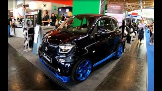 SMART FOR TWO ED ELECTRIC DRIVE NEW MODEL LORINSER TUNING SHOW CAR WALKAROUND