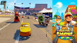 Disney Pixar Cars 3 Simulator Driven To Win VS Subway Surfers World Rio Brazil Gameplay #35