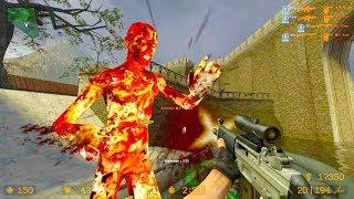 Counter Strike Source - Zombie Riot Mod Online Gameplay on Piranesi map
