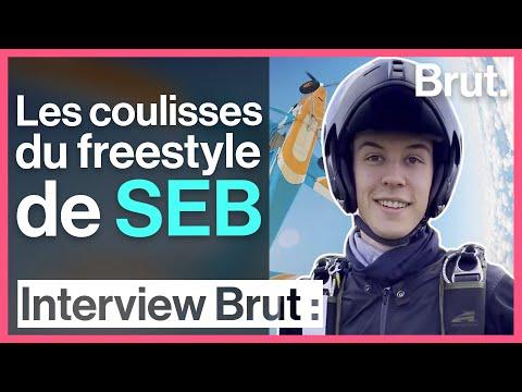 Youtube: Freestyle en parachute: le défi de SEB