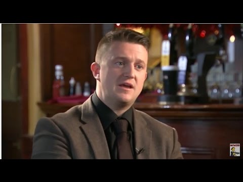 Dazed and confused: Tommy Robinson launches British Pegida
