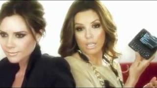 Victoria Beckham and Eva Longoria Parker LG Commercial