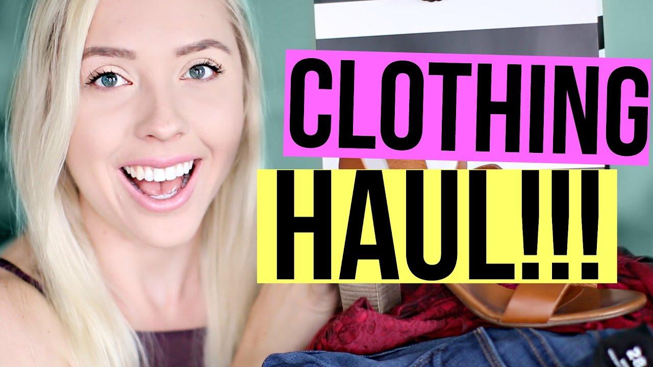Huge Clothing Haul | Ashley Nichole