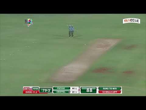 Mumbai T20 League 2019 | Arcs Andheri vs North Mumbai Panthers | Semifinal 1 | Live