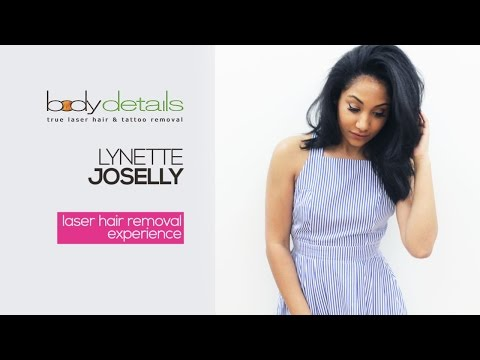 Laser Hair Removal Saves Me Time | Lynette Joselly | Body Details