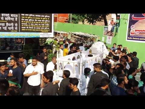 Nowgawan Sadat Azadari 2016-17 Anjuman e Yadgar e Hussaini India 1438 Hijri