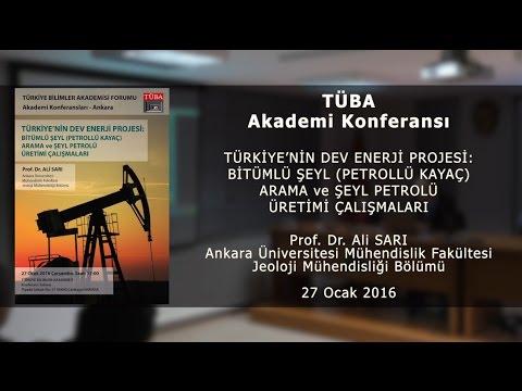 """""""Türkiye'nin Dev Enerji Projesi: Bitümlü Şeyl Arama ve Şeyl Petrolü Üretimi Çalışmaları"""""""