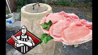 Покупка мяса у мясника для приготовления в тандыре