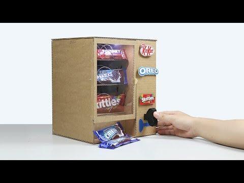 How to Make KitKat Skittles OREO Vending Machine