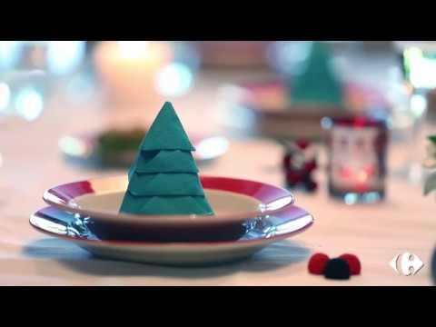 Servilletas en forma de arbolito carrefour deco navidad - Arboles navidad carrefour ...