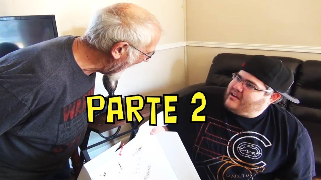 Nonno spacca playstation parte 2 lo scherzone youtube - Nonno spacca letto ...