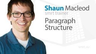 Paragraph structure -