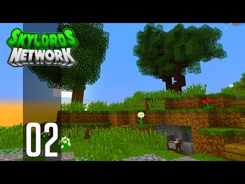 ►Minecraft Skyblock - Ep. 2: EPIC TERRAFORMING! (Skylords Network)◄ | IJevin