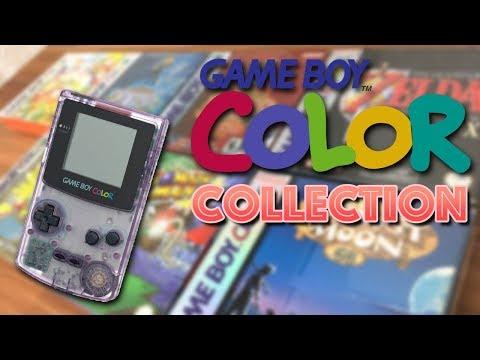 Meine GAME BOY COLOR Collection / Sammlung