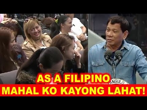 PRES DUTERTE EMOTIONAL SPEECH AND FUNNY MOMENTS WITH KUWAIT OFW RETURNEES