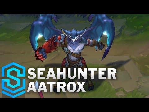 Seahunter Aatrox Skin Spotlight - League of Legends