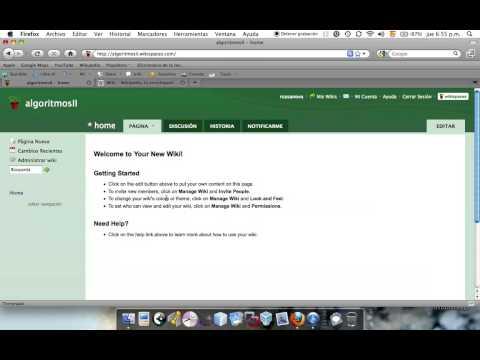 Cómo Crear Un Wiki Sencillo - Parte I