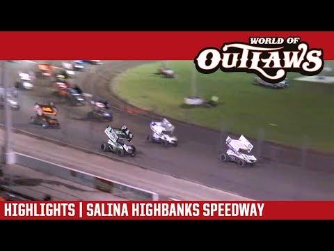 World of Outlaws Craftsman Sprint Cars Salina Highbanks Speedway May 5, 2018 | HIGHLIGHTS