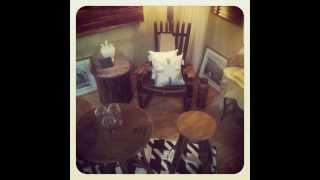 Furniture : De·mar·cate , Wine Barrel Furniture.