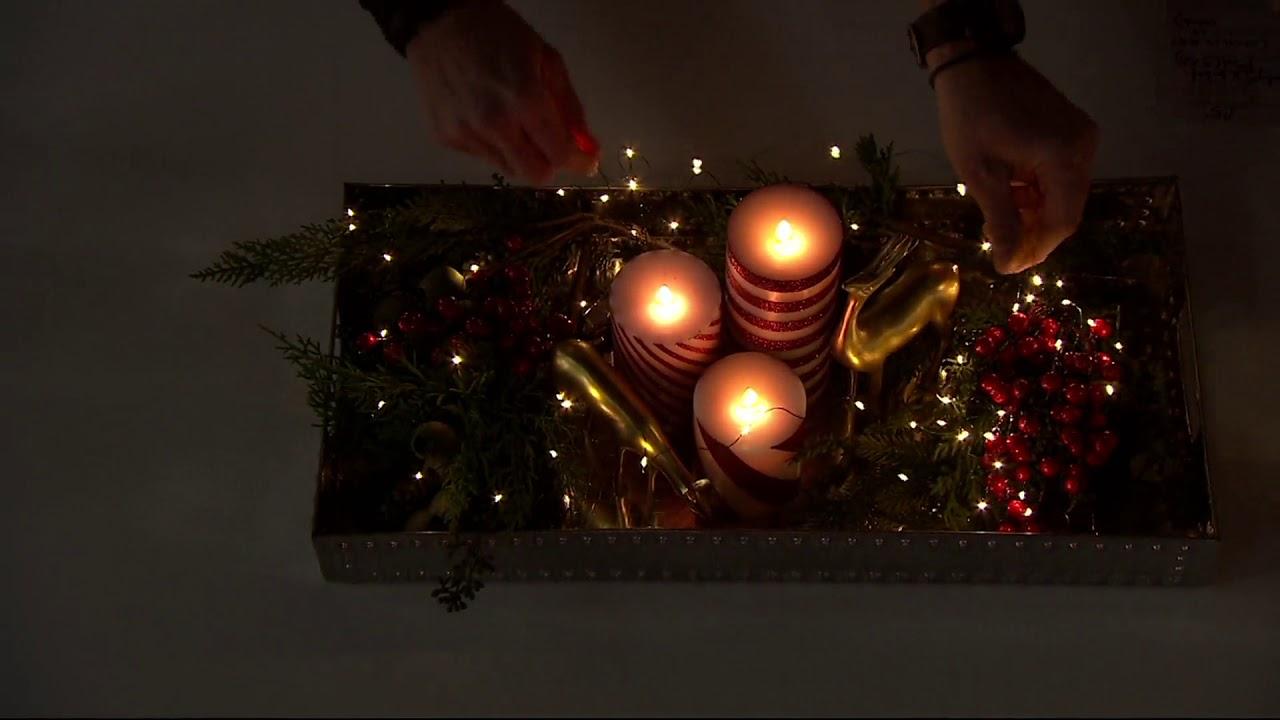 bethlehem lights set of 4 indooroutdoor fairy micro light strands on qvc - Christmas Light Strands