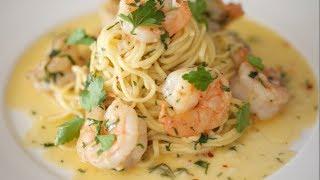 Shrimp Scampi & Linguine  Byron Talbott