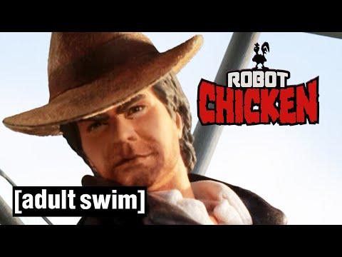 Robot Chicken does... Indiana Jones (Part 1) | Adult Swim UK 🇬🇧 |