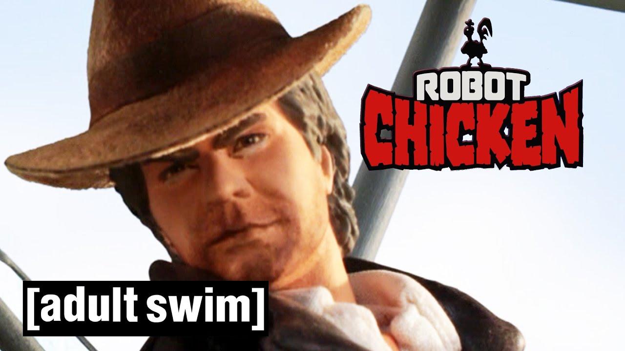 Robot Chicken does... Indiana Jones (Part 1) | Adult Swim UK ??