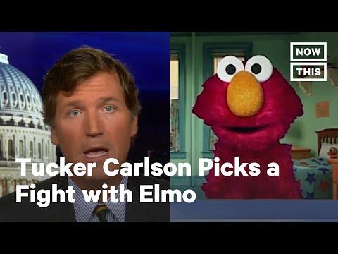 Fox News' Tucker Carlson Attacks Elmo for Anti-Racist Special   NowThis