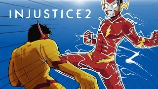 INJUSTICE 2 - FLASHLIRIOUS VS REVERSE FLASHTOONZ!