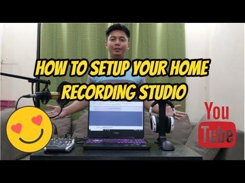 HOME RECORDING 101: How To Setup Your Home Recording Studio (Tagalog/Filipino)