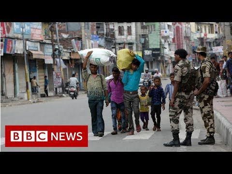 kashmir-in-lockdown-after-autonomy-scrapped---bbc-news
