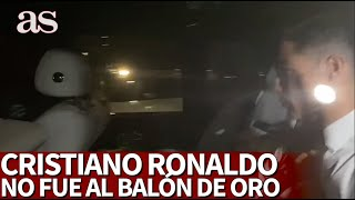 Cristiano no fue al Balón de Oro por estar en la gala de la Serie A Diario As