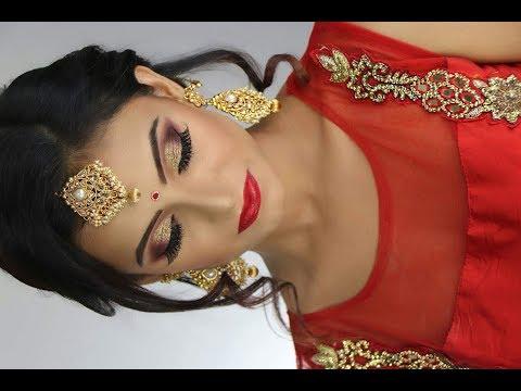 Bridal Makeup & Hair  MakeupbyAzmeree  Indian Bridal Makeup  Bangladesh  Pakistan