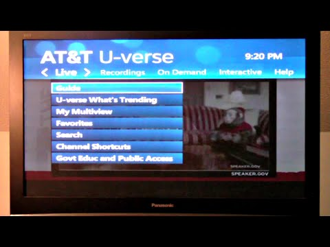 AT&T U-verse TV & Internet Review!