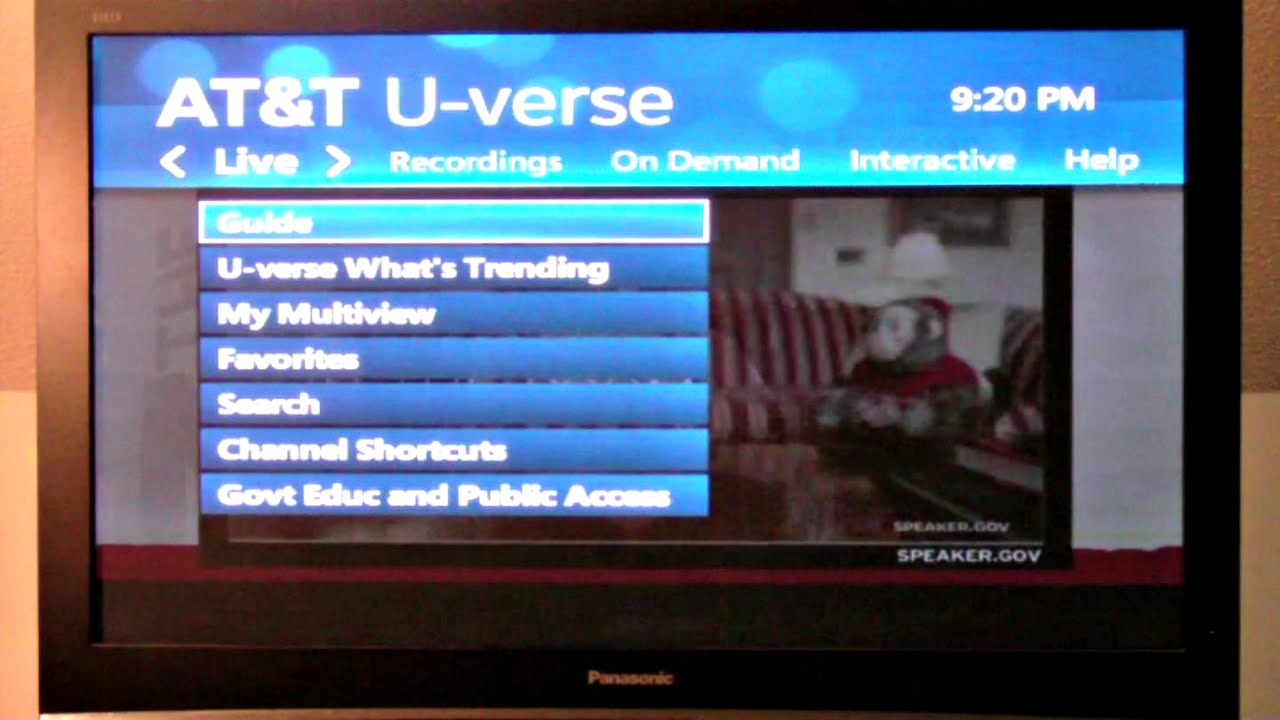 at&t watch tv channels